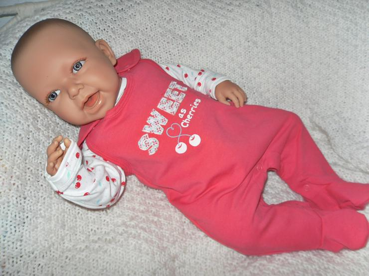 Bild 2: Doro Dolls Babypuppe Evelyn 52 cm mit Schnuller Spielpuppe Baby NEU