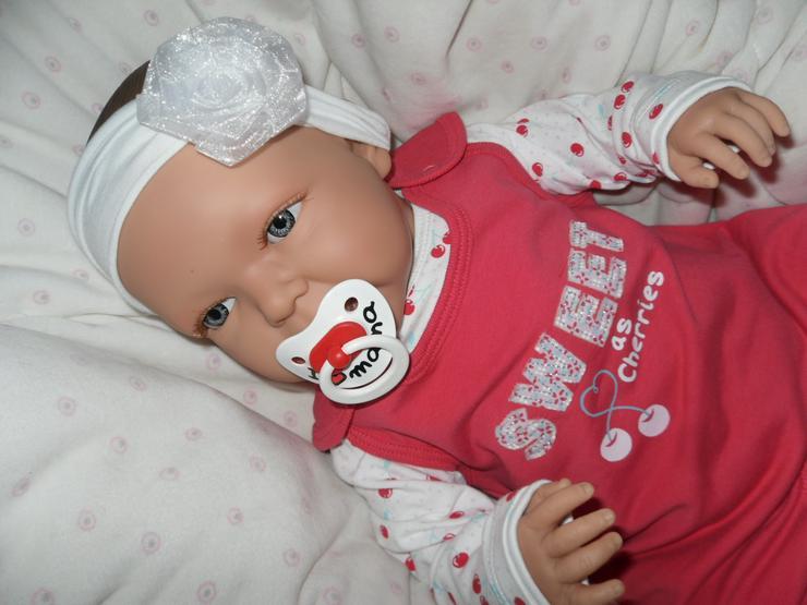 Bild 13: Doro Dolls Babypuppe Evelyn 52 cm mit Schnuller Spielpuppe Baby NEU