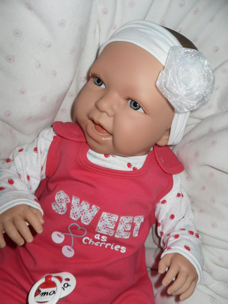 Bild 11: Doro Dolls Babypuppe Evelyn 52 cm mit Schnuller Spielpuppe Baby NEU