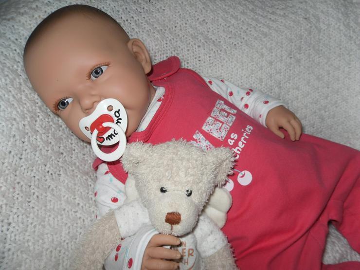 Bild 5: Doro Dolls Babypuppe Evelyn 52 cm mit Schnuller Spielpuppe Baby NEU