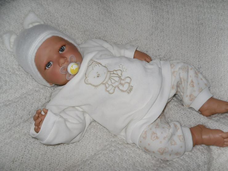 Babypuppen Bennet 54 cm mit Schnuller Doro Dolls Baby NEU