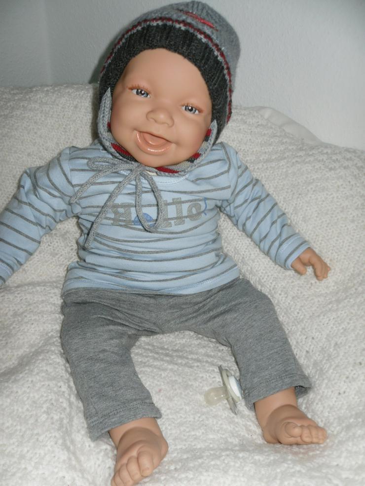 Babypuppen Leopold 54 cm mit Schnuller Doro Dolls Baby NEU