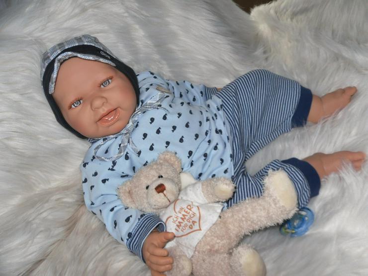 Doro Dolls Babypuppe Philiph 52 cm mit Schnuller Spielpuppe Puppen NEU