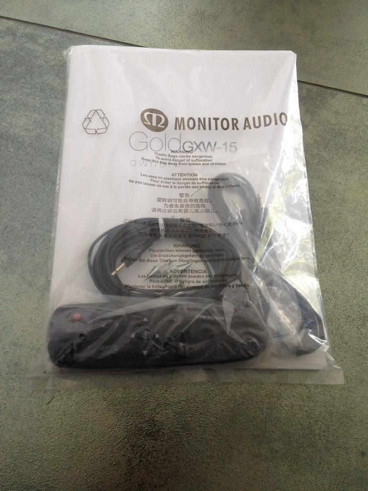 Bild 6: Monitor Audio GXW15 High End Subwoofer 38cm Durchmesser