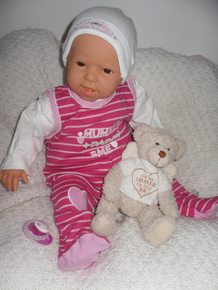 Antonio Juan Babypuppe Jonna 50 cm Baby Puppen Spielpuppen NEU