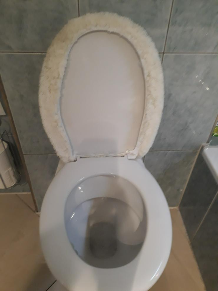 sauber und gute Wandhängende WC von Villeroy& Boch mit Deckel
