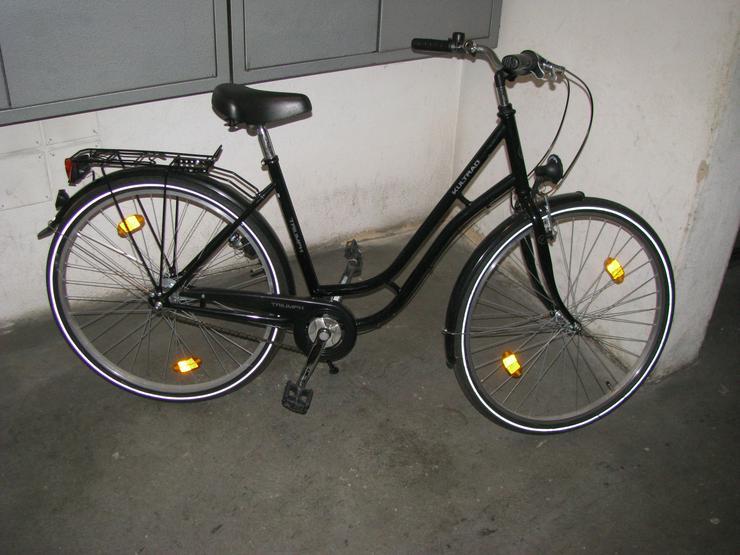 WIE NEU - Triumph Kultrad 28 Zoll (schwarz) - keine 5 mal gefahren