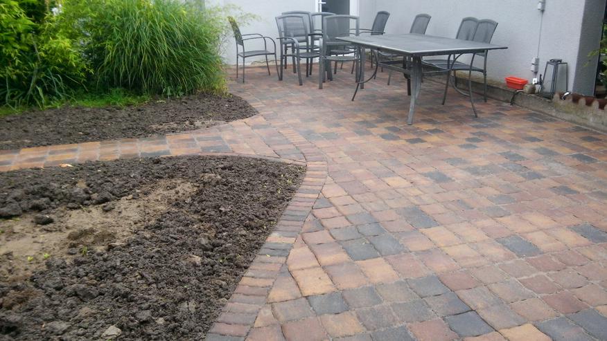 Aussenanlage Pflasterverlegung Gartengestaltung