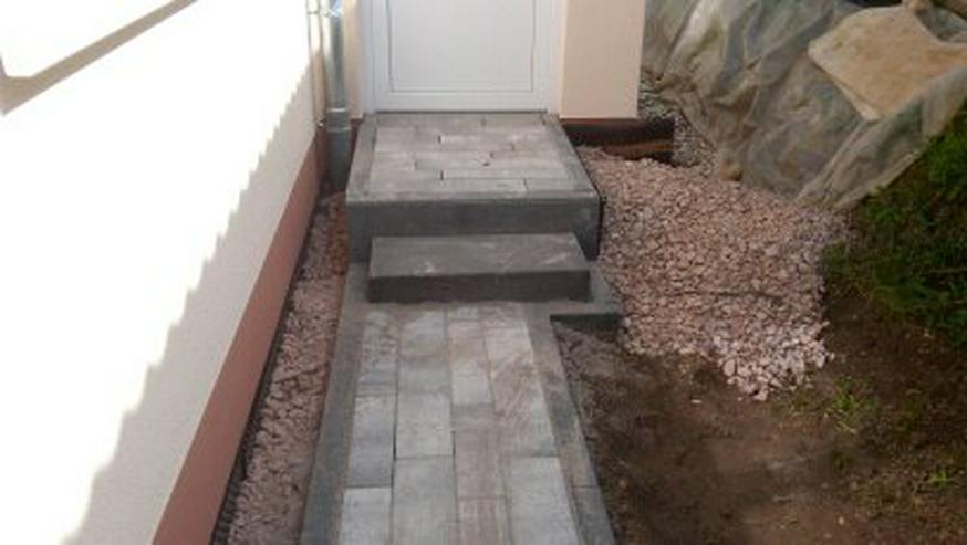 Bild 3: Aussenanlage Pflasterverlegung Gartengestaltung