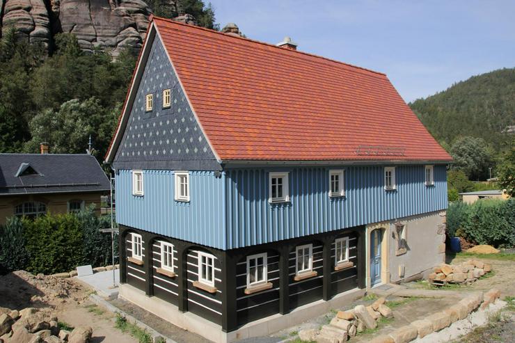 FERIENHAUS Gebirgshäusl im Zittauer Gebirge / Oberlausitz