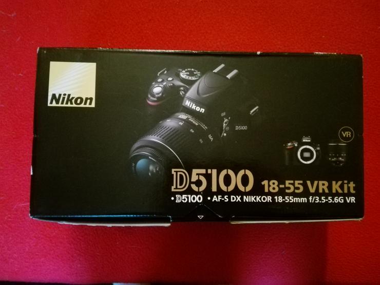 Bild 5: Nikon D5100 Spiegelreflexkamera Einsteiger Komplettpaket +++