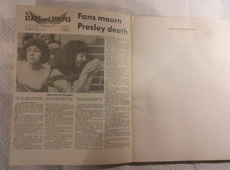 Bild 3: Elvis Dokumentar Geschichtsbuch (FP)