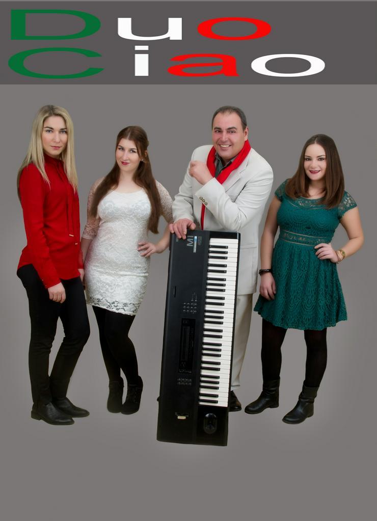 ITALIA TUTTO MUSICA DUO CIAO BAND TRIO  ITALIENISCH & INTERNATIONALE FÜR JEDE ANLÄSSE