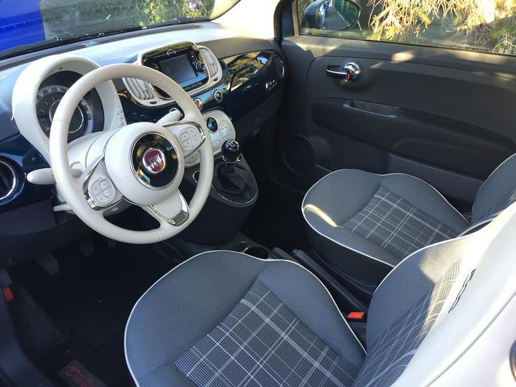 Bild 5: Fiat 500 Lounge 1,2l- Panoaramadach, Klimaautomatik**