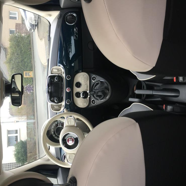 Bild 6: Fiat 500 Lounge 1,2l- Panoaramadach, Klimaautomatik**