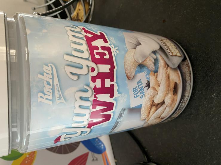 YumYum Whey Rocka Nutrition Vanillekipferl