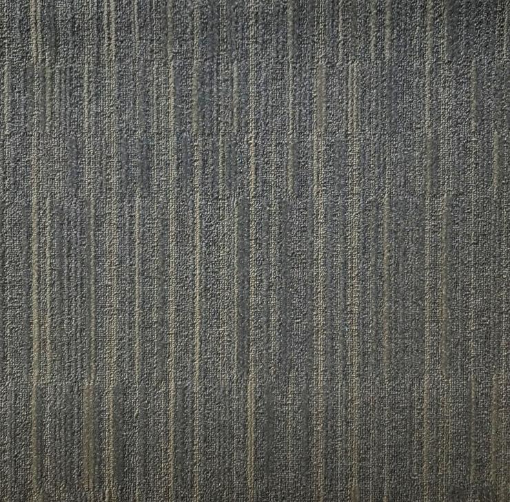Party Teppichfliesen NEU Mit Streifenmuster Grau / Braun - Teppiche - Bild 1