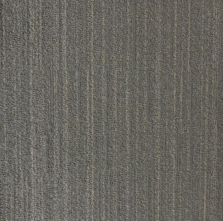 Bild 3: Party Teppichfliesen NEU Mit Streifenmuster Grau / Braun