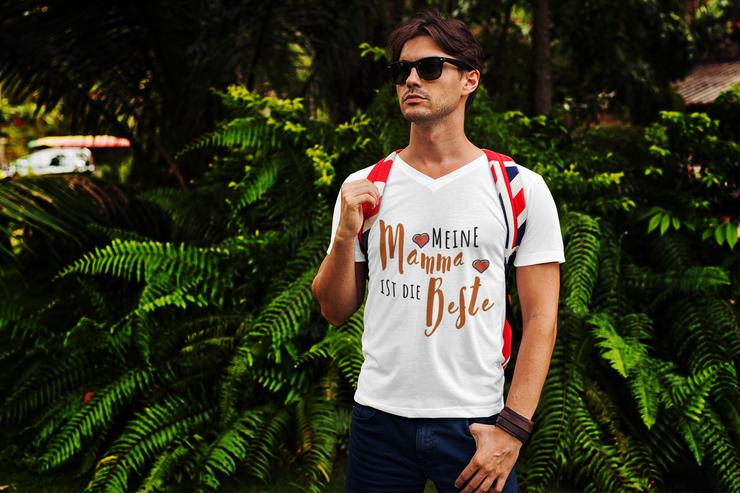 Familien T-Shirt: Meine Mama ist die Beste!