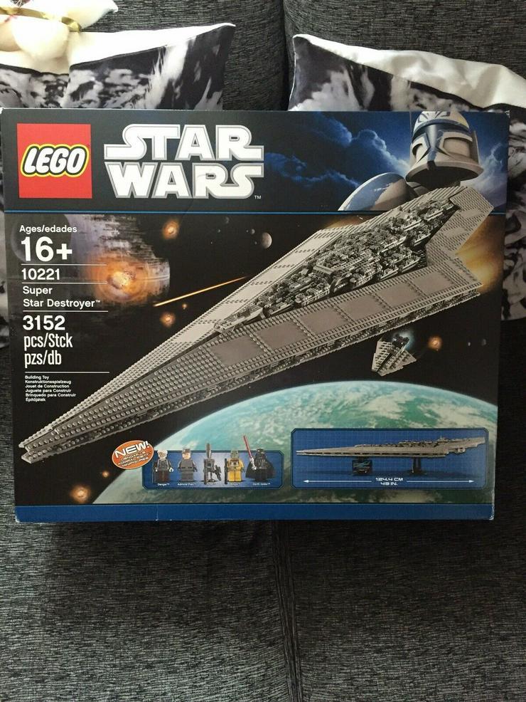 LEGO Star Wars Super-Sternenzerstörer 10221 Neu OVP UCS
