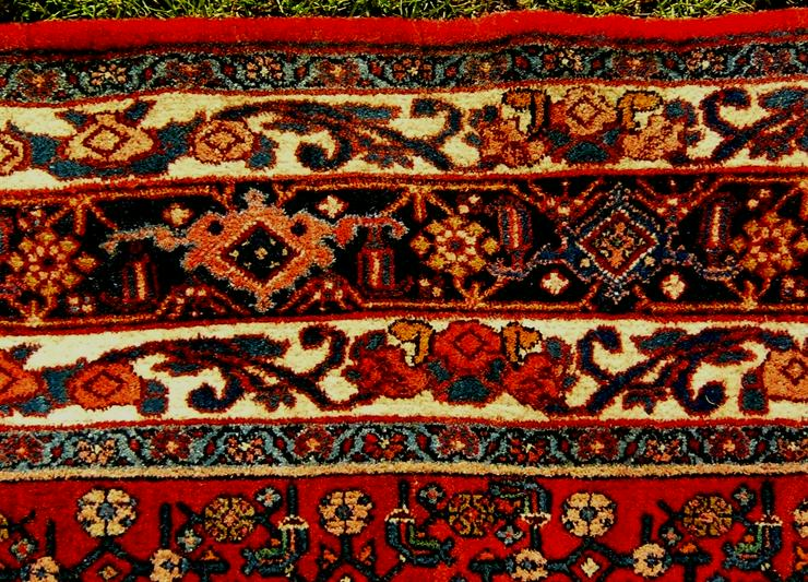 Bild 6: Orientteppich Bidjar antik TOP 322x160 (T094)