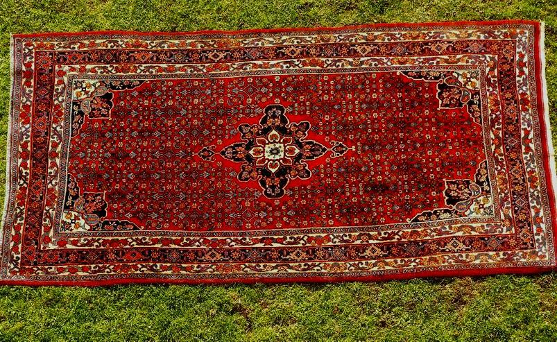 Bild 1: Orientteppich Bidjar antik TOP 322x160 (T094)
