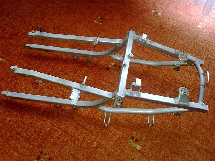 Gsx-R 750 SRAD Heckrahmen Rahmen GSXR