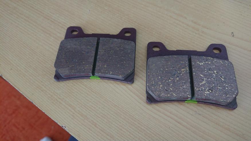 Yamaha Bremsbeläge Caa: 63 x 55 mm