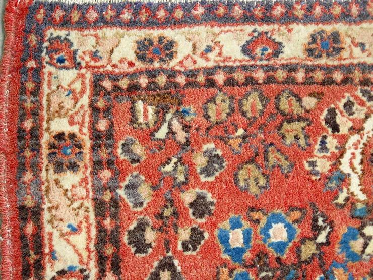 Bild 2: Orientteppich Saruk, Sarugh antik 124x64 (T099)