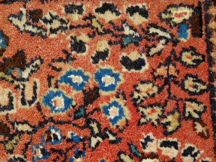 Bild 4: Orientteppich Saruk, Sarugh antik 124x64 (T099)