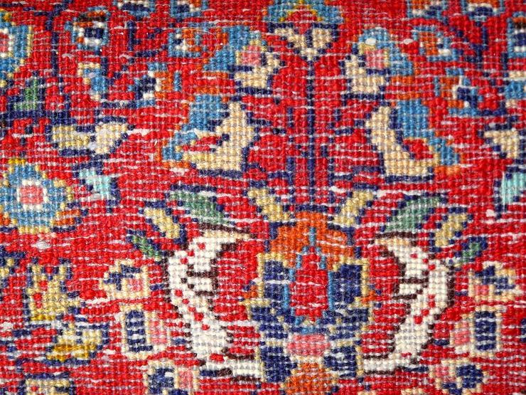 Bild 5: Orientteppich Saruk, Sarugh antik 124x64 (T099)