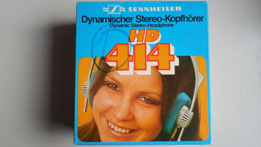 Bild 5: Sennheiser Hi-Fi Stereo Kopfhörer HD 414