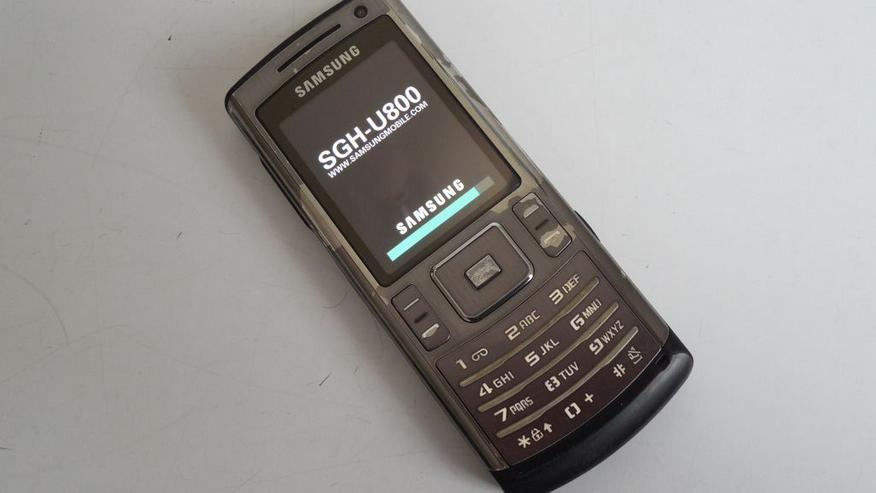 Bild 2: Samsung SGH-U800 Handy