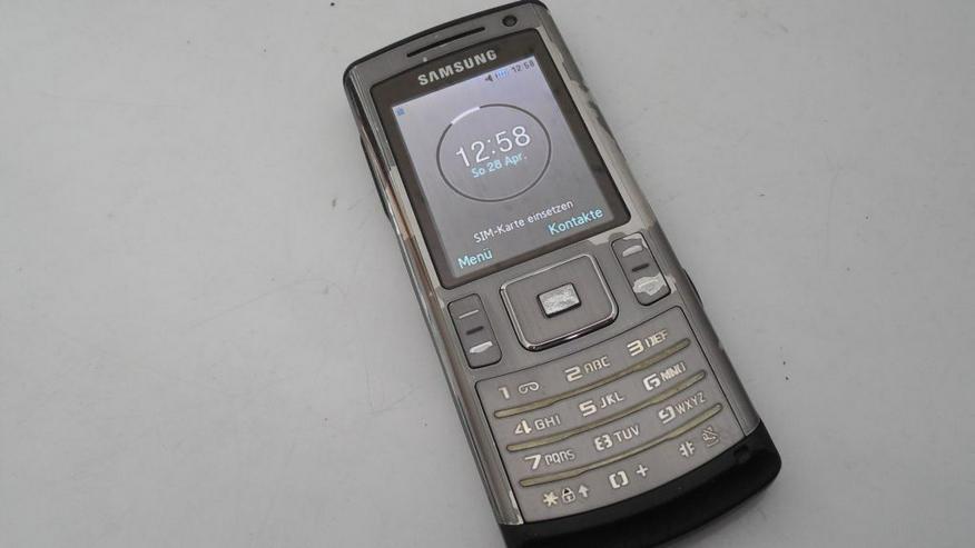 Bild 6: Samsung SGH-U800 Handy