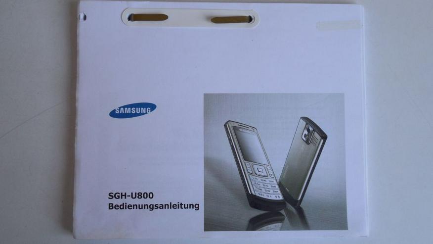 Bild 5: Samsung SGH-U800 Handy