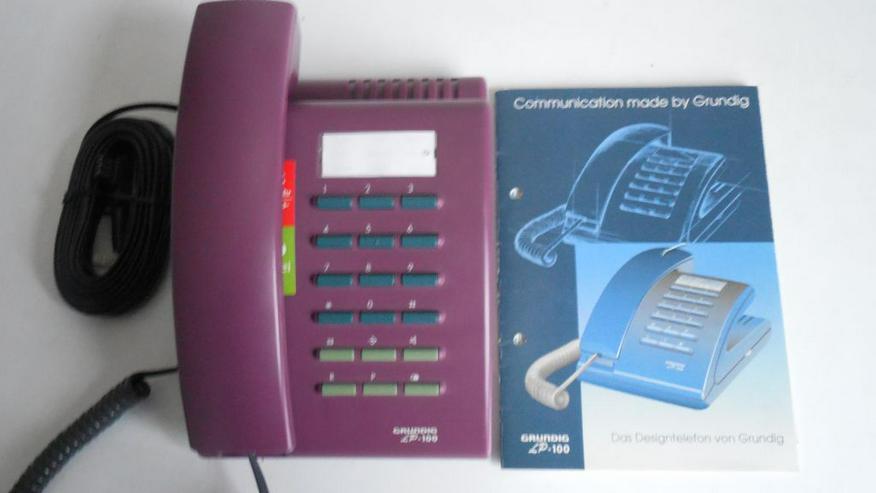 Bild 5: Grundig Tasten-Telefon LP-100