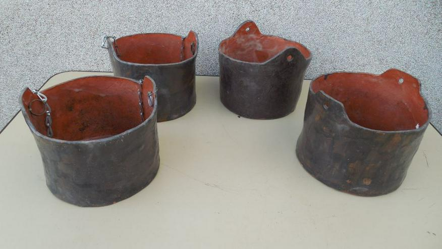 Bild 4: Keramik-Pflanzgefäße, -Blumentöpfe