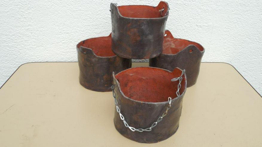 Bild 2: Keramik-Pflanzgefäße, -Blumentöpfe