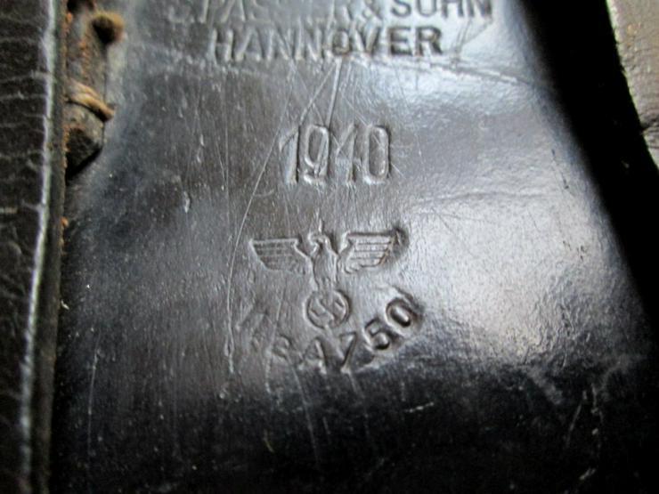 Bild 6: P08 Holster/Tasche 1940 + Mag aus Wk2