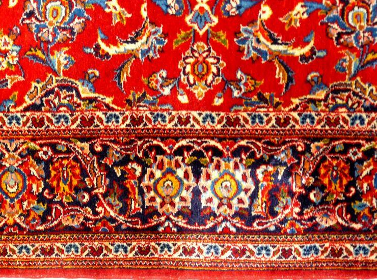 Bild 4: Orientteppich Keschan alt 203x136 (T016)