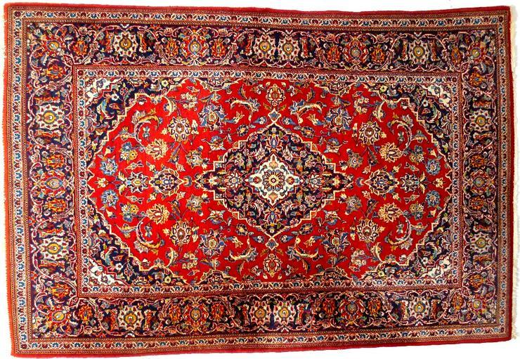 Orientteppich Keschan alt 203x136 (T016) - Fliesen & Teppiche - Bild 1