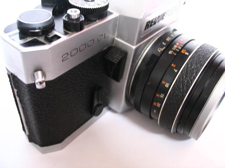 Bild 6: RevueFlex 2000CL Spiegelreflex-KB-Kamera