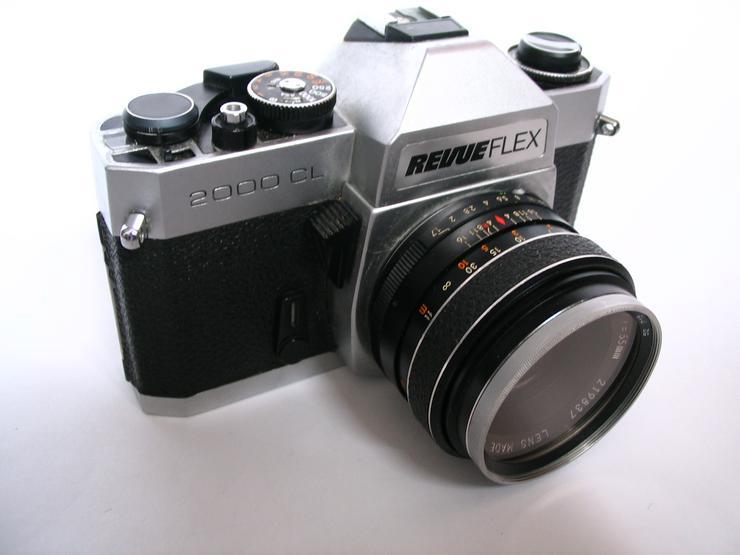 RevueFlex 2000CL Spiegelreflex-KB-Kamera