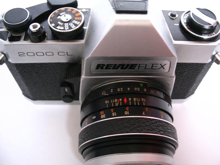 Bild 3: RevueFlex 2000CL Spiegelreflex-KB-Kamera