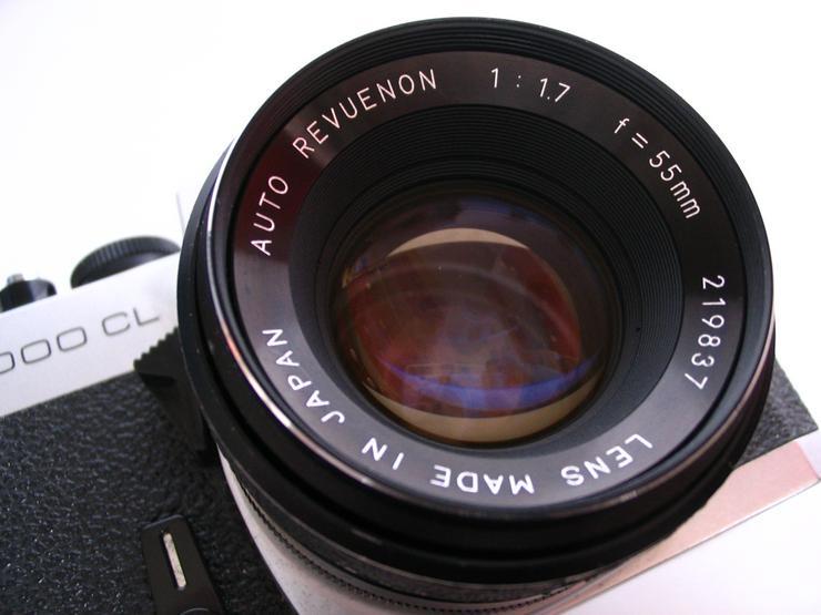 Bild 4: RevueFlex 2000CL Spiegelreflex-KB-Kamera