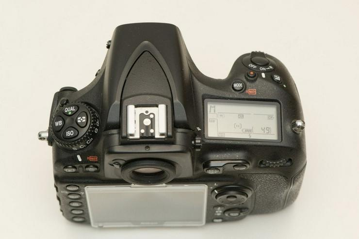Bild 3: Nikon D810 Kamera in gutem Zustand