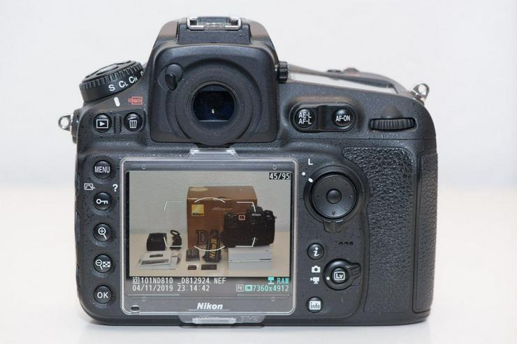 Bild 2: Nikon D810 Kamera in gutem Zustand