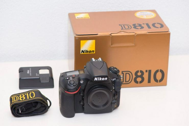 Bild 4: Nikon D810 Kamera in gutem Zustand