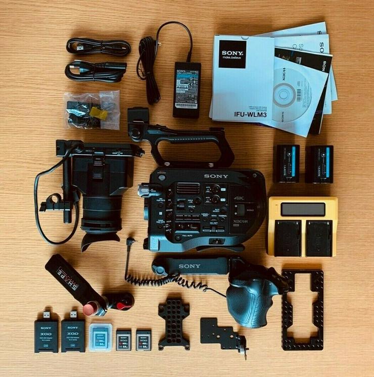 Sony PXW-FS7 Camcorder mit Zubehör - Camcorder - Bild 2