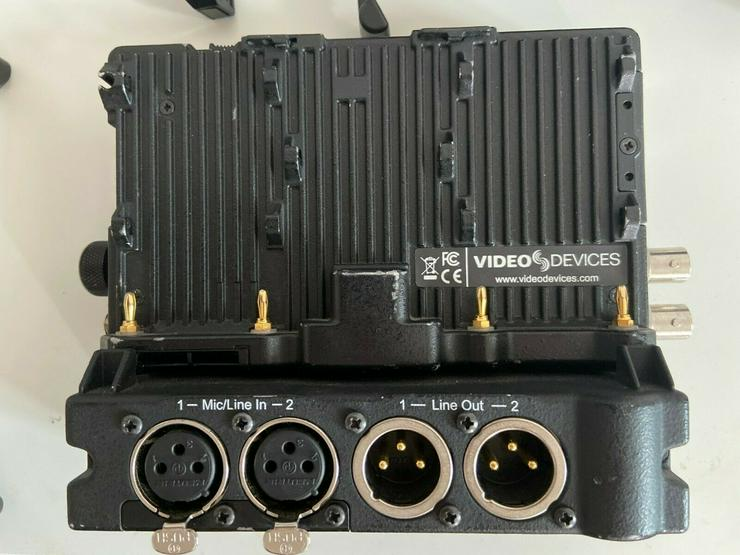 Bild 4: Video Devices Pix E5 + PIX Audio LR Interface
